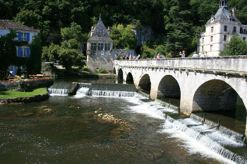 Photo of Brantome in Dordogne