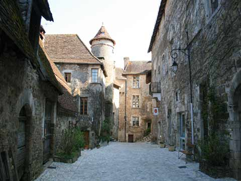 Photo of Carennac in Dordogne
