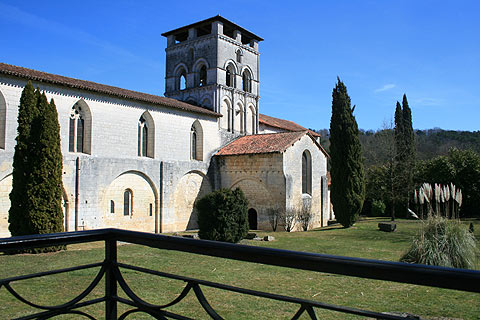 Photo of Chancelade Abbey in Dordogne