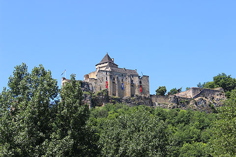 Photo of Chateau de Castelnaud in Dordogne