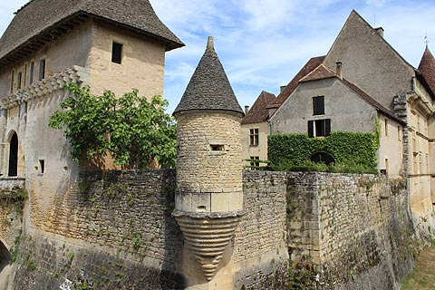 Photo of Chateau de Losse in Dordogne