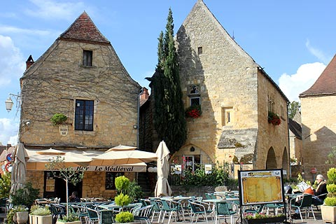 Photo of Domme in Dordogne