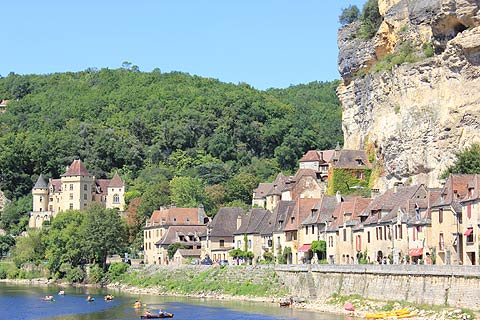 Photo of La Roque-Gageac in Dordogne