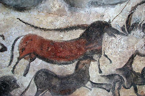 Photo of Lascaux caves in Dordogne