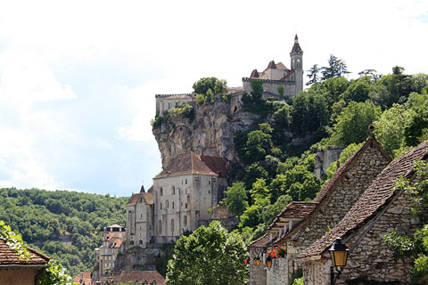 Photo of Rocamadour in Dordogne