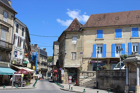 Centre Ville Le Bugue Dordogne