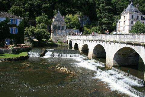 Brantome en Dordogne