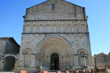Romanesque church of St Privat des Pres