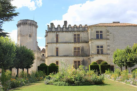 The Chateau de Bourdeilles