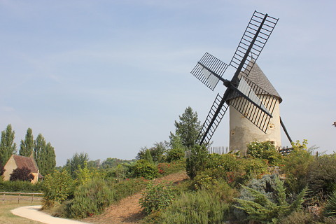windmill at Le-Bournat