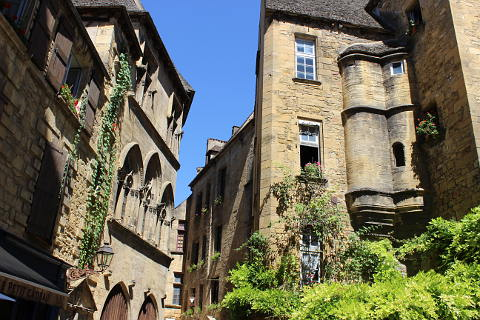pretty street of Sarlat